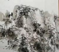 """""""洛江清韵""""梁寿城先生暨鹿寨国画提高班作品展"""